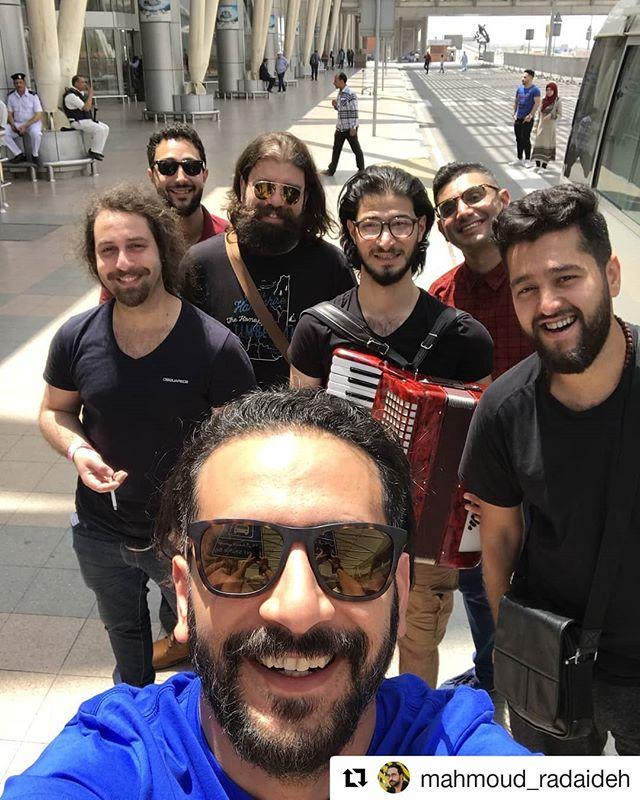 وصلنا #مصر، ونحن الآن في #طنطا والتحضيرات جاريه ليوم غد، جمهور طنطا متحمسين نشوفكم لاول مرة #جدل  #Repost @mahmoud_radaideh (@get_repost) ・・・ Made it to #Egypt for #redbullfelshare3 2nd edition, 4 cities, first gig tomorrow in #Tanta #jadal #جدل