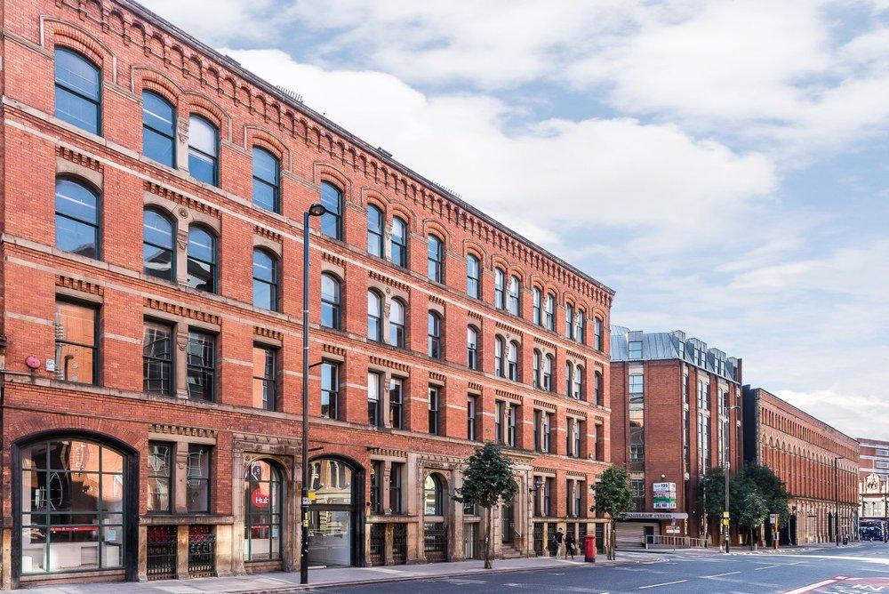 "Portland Street, City Centre, Manchester, M1<br><div class=""priceright"">£45 a month</div>"