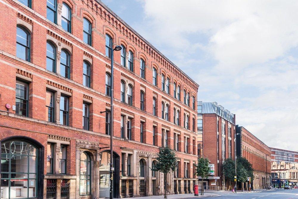"Portland Street, City Centre, Manchester, M1<br><div class=""priceright"">£35 a month</div>"