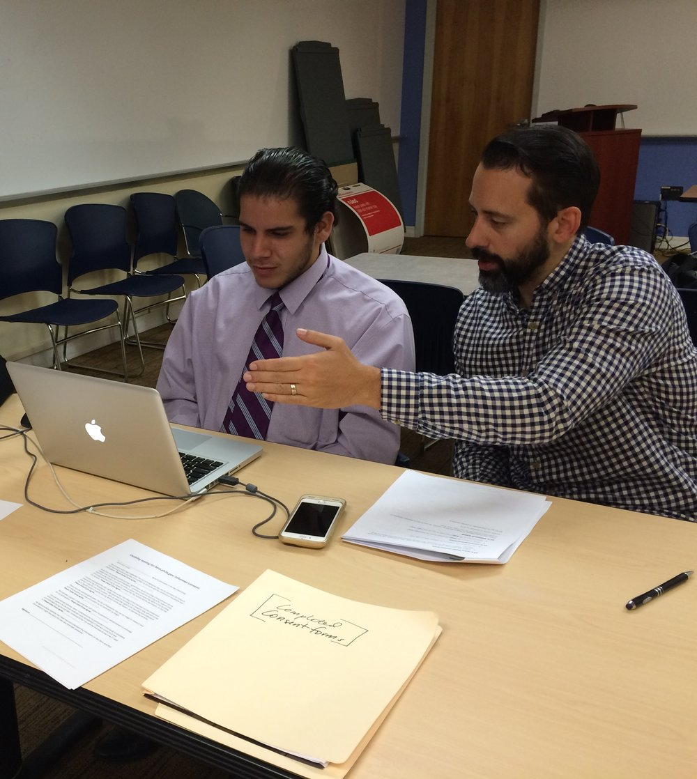 Usability testing with a Phila resident