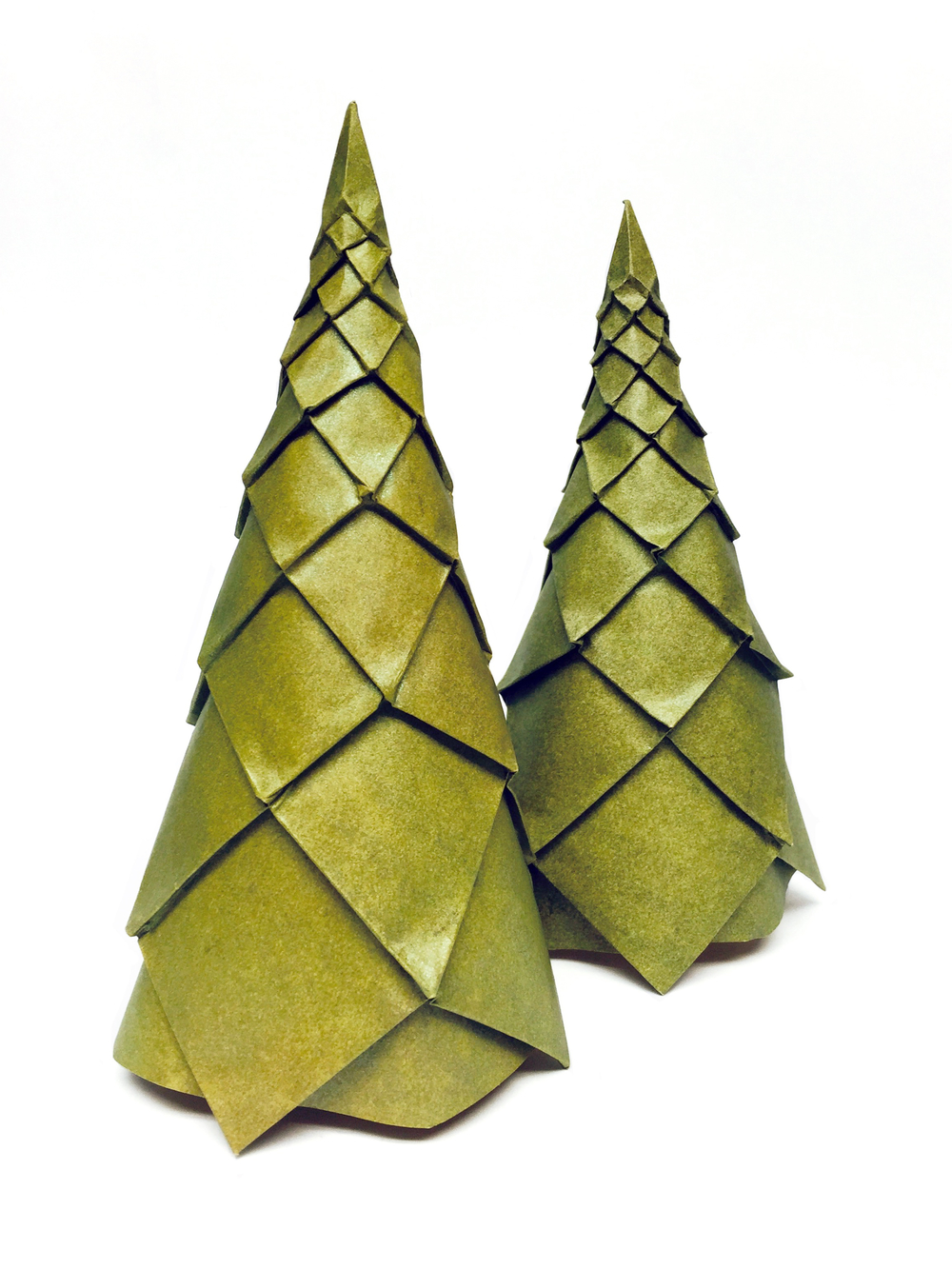 Beth Johnson Origami Christmas Bird Feeder Diagram Trees