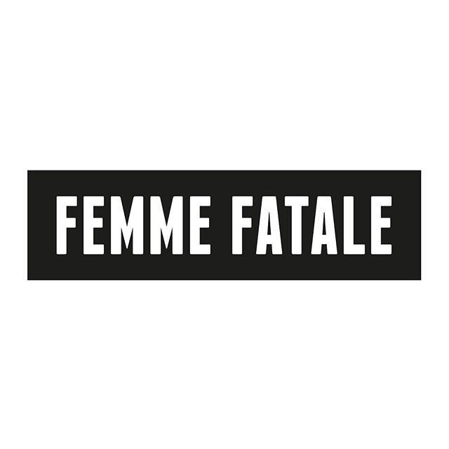 #tshirtdesign #tshirt #graphicdesign #branding #brandingdesign #logo #black  #white #blackandwhite #femme #fatale