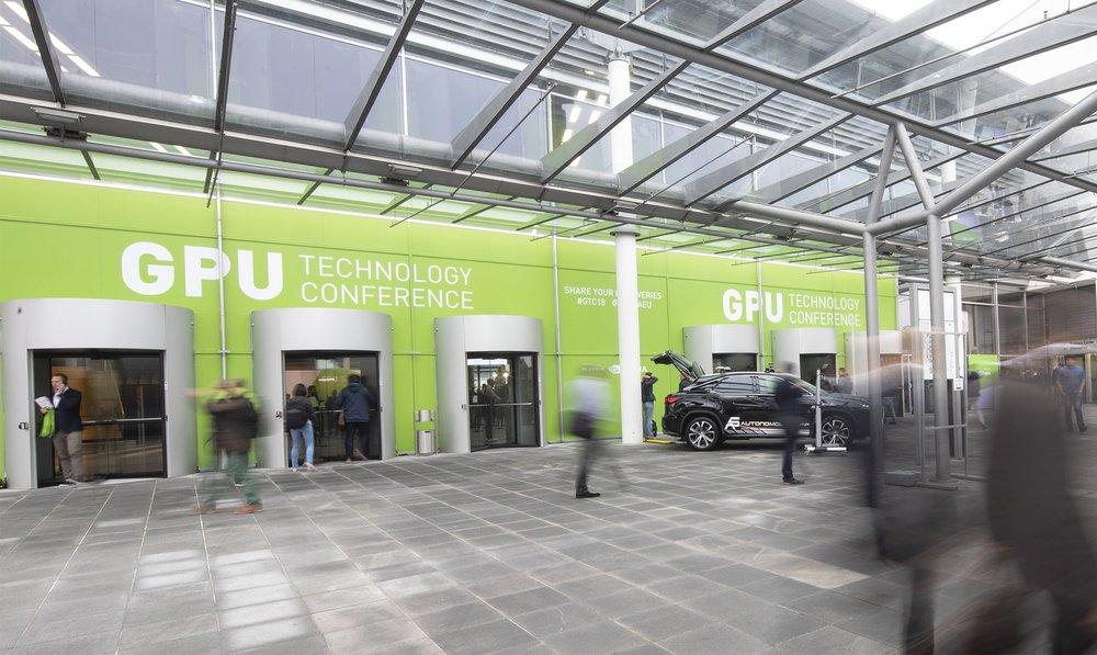 GTC 2018 - Entrance