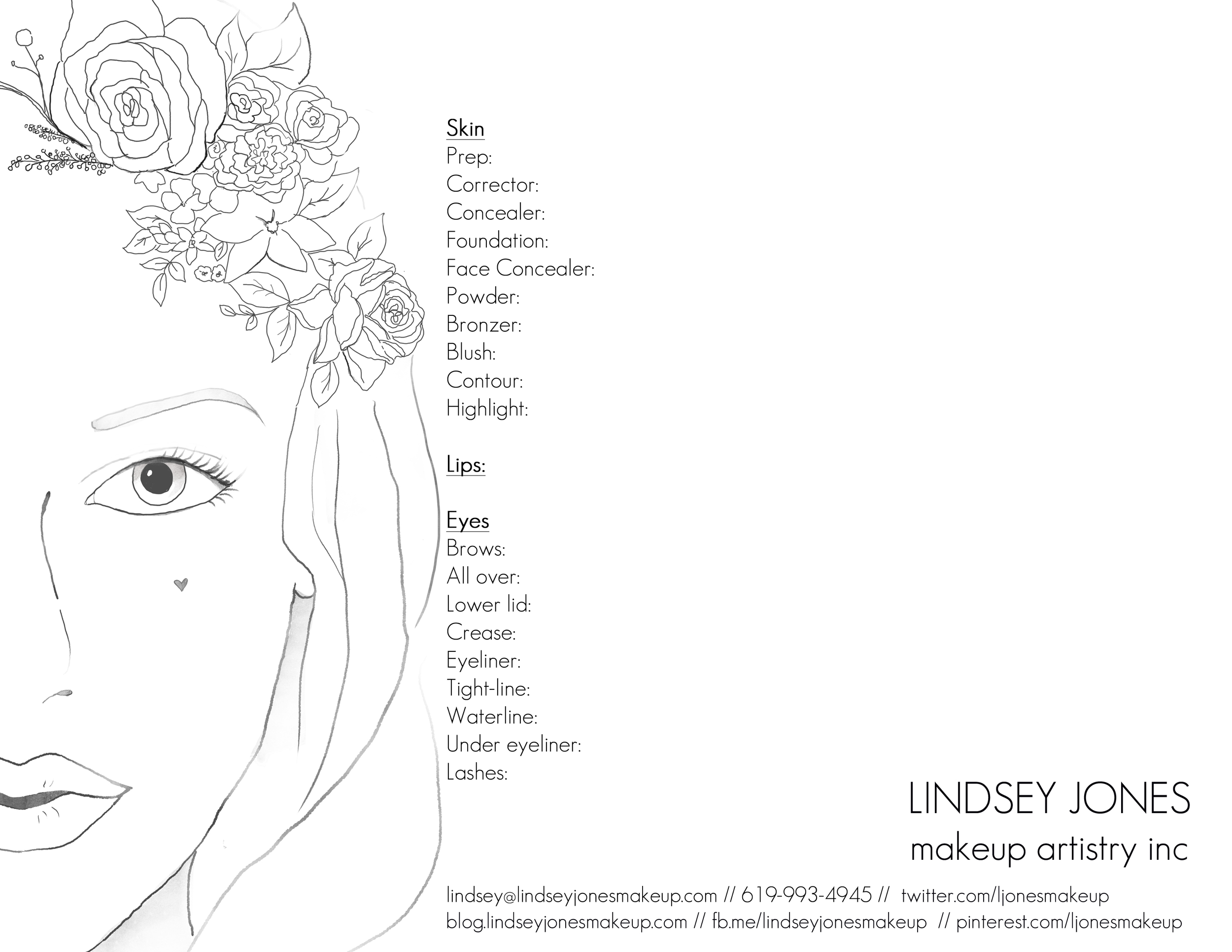 NEW FACE CHART Feb 8 2013