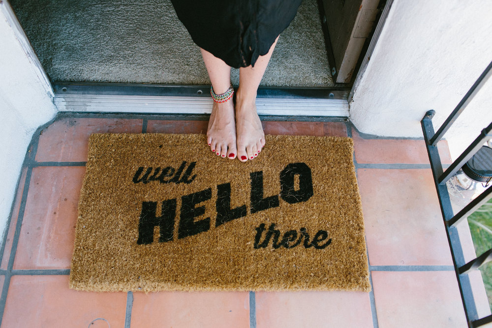 West Elm Door Mat