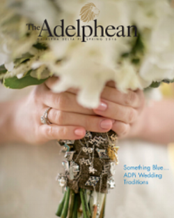 We were featured in Alpha Delta Pi's quarterly magazine, the Adelphean.  See page 7! If you're an ADPi sister <>, use the ADPi promo code!