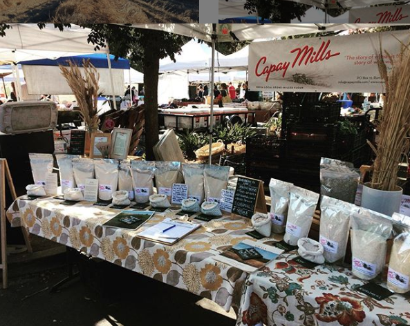 Capay Mills farmers market northern CA Bay Area
