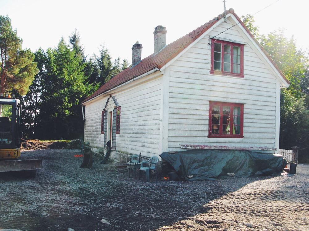 Forland tilbygg fasade
