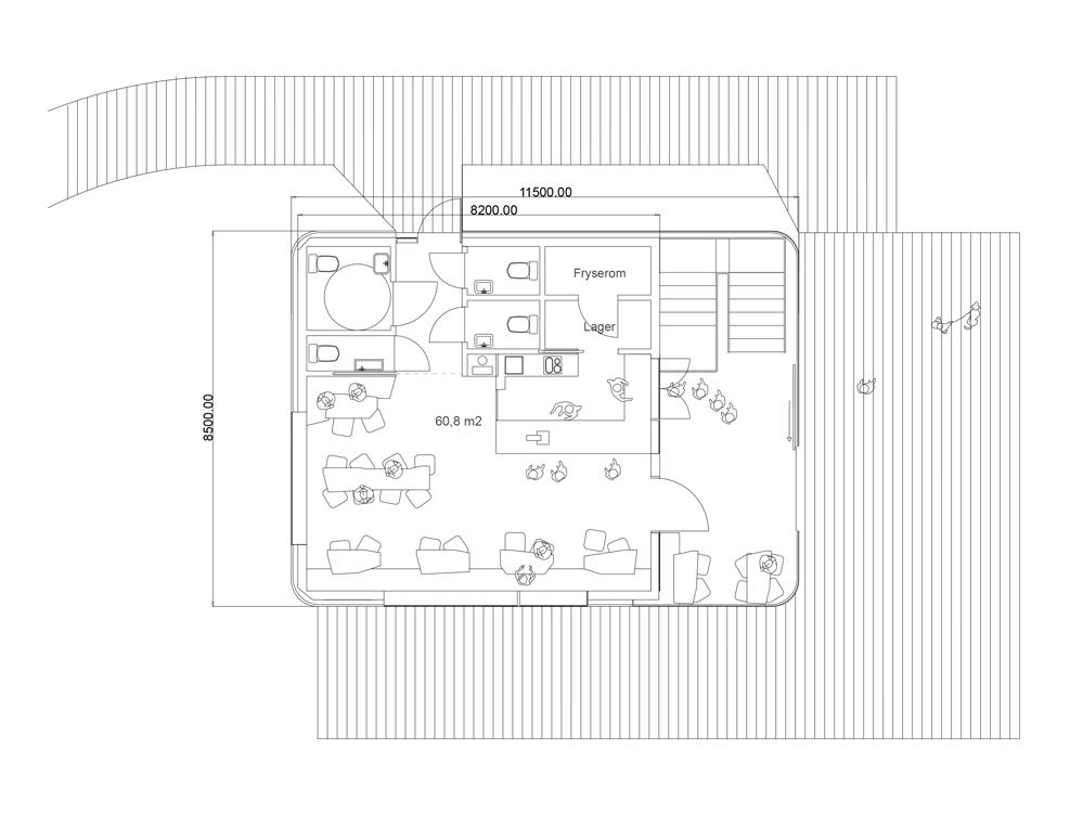 Utmark arkitektur skomakerdiket konkurranse varmaren plan1