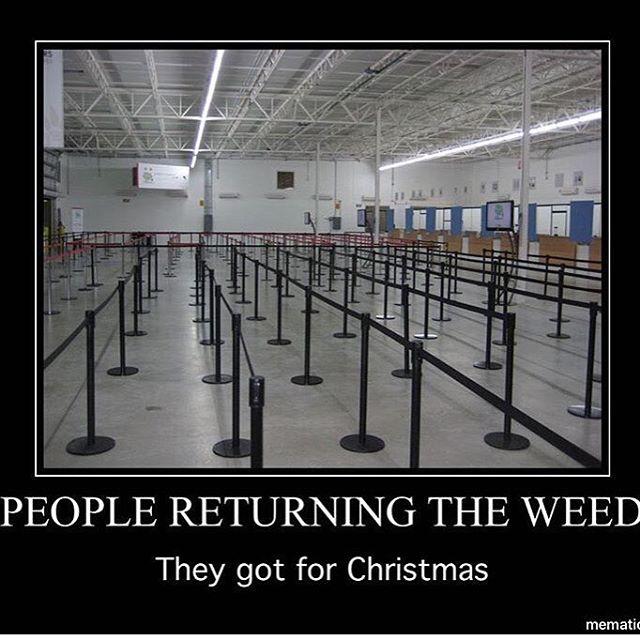 So true. #thegiftthatkeepsongiving #christmas #thursday #weed #maryjane #cannabis #marijuana #dope