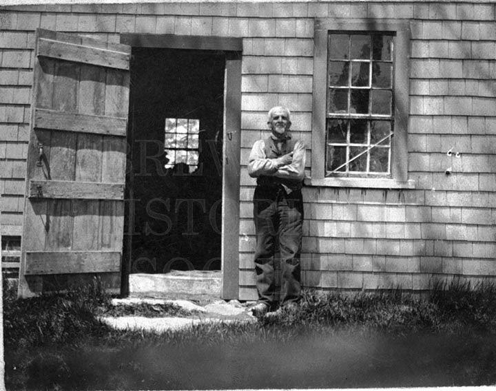 22. 1970.10.190  Unidentified Man and Door c. 1900 – photographer unknown