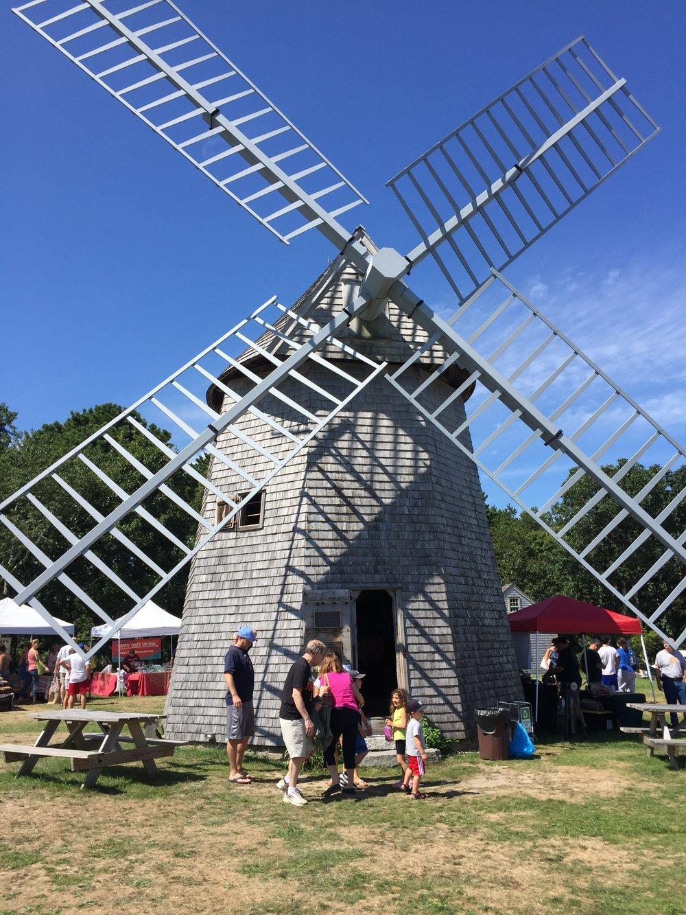 Higgins Farm Windmill circa 1795