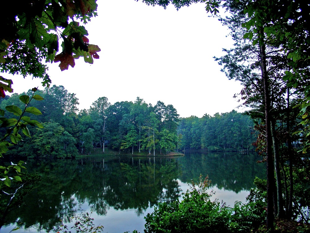 15-acre lake