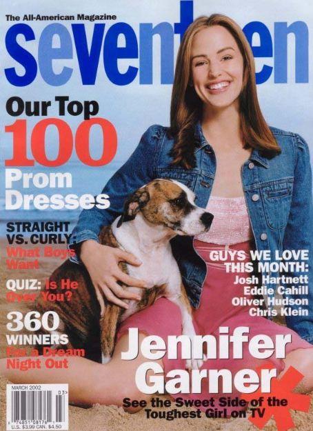 Seventeen , March 2002, Image via  Famous Fix