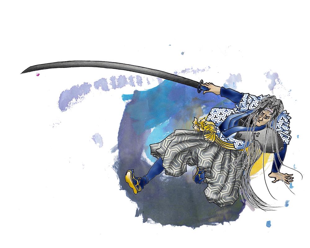 GAAM Fantasy - 2014 - Ukiyo-e Sephiroth - ©ElenaØhlander