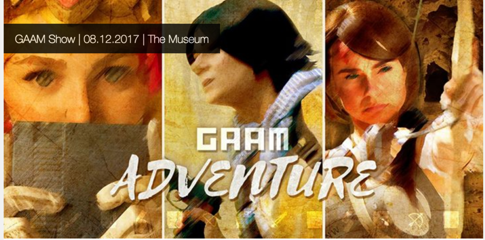 This year's GAAM them is ADVENTURE!