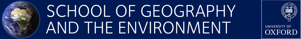 The School of Geography and the Environment at the University of Oxford