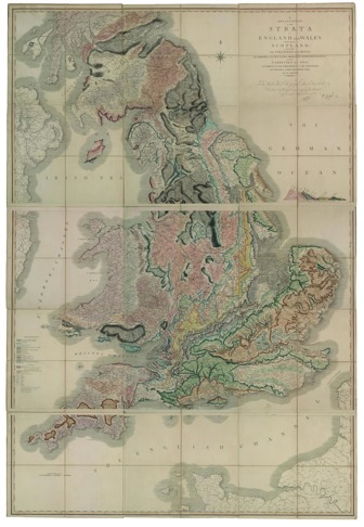 William Smith, A Memoir to the Map and Delineation of the Strata of England and Wales, With Part of Scotland (London: John Cary, 1815).