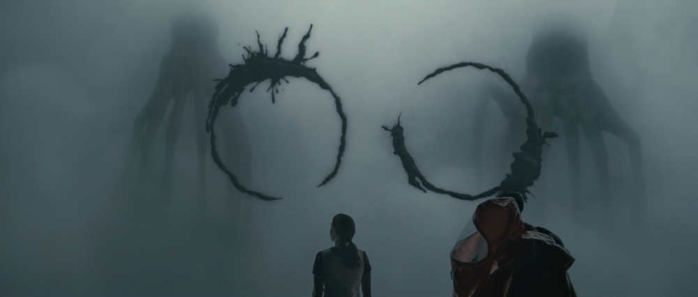 Some ink-based heptapod communication from  Arrival.