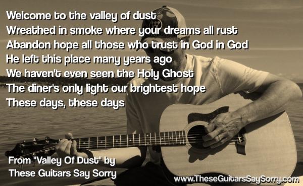 song-lyrics-valley-of-dust