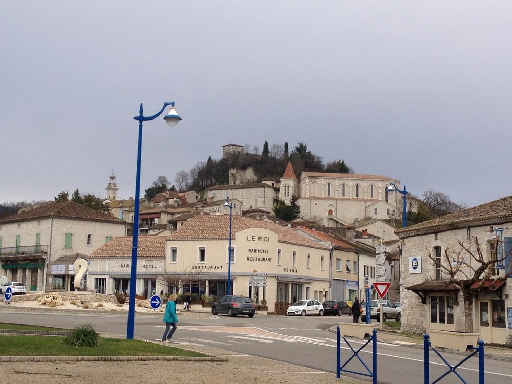 Montaigu de Quercy. January 2016.