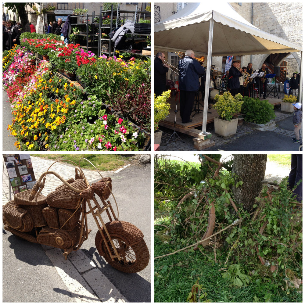 Tournon Flower Festival, May 1st 2016.