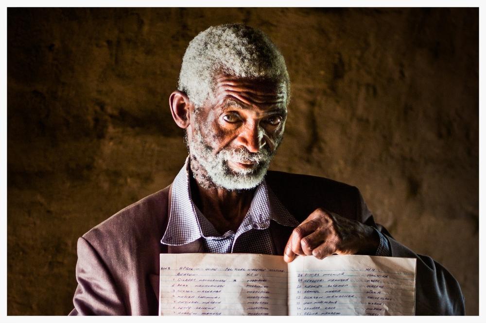 Courage in Zimbabwe. Photo © Marcus Perkins