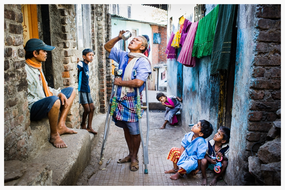 Touching the Untouchable. Indian Dalits. Photo © Marcus Perkins