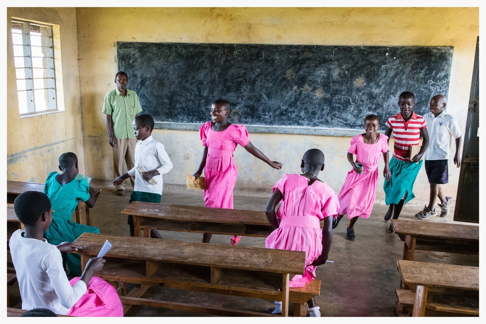 School is highly valued in Rwanyana, south west Uganda. Photo © Marcus Perkins