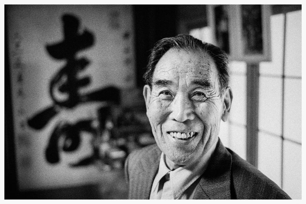 Kaname Harada in 2001. Photo © Marcus Perkins