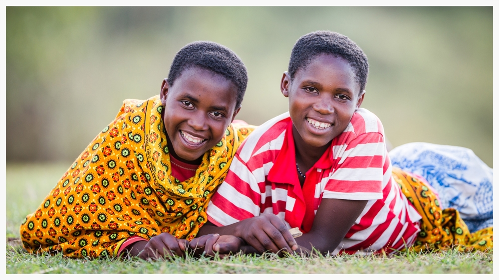 Doreen and Jouvllet both aspire to be head teachers when the grow up. Photo © Marcus Perkins