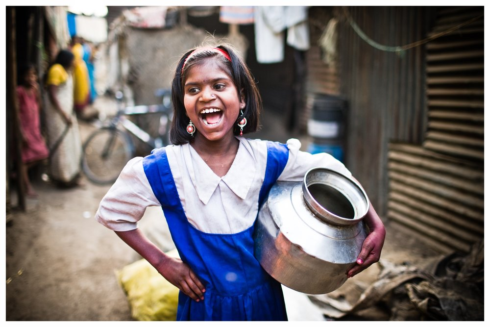 Day after Holi. Nasik, Maharashtra. Photo © Marcus Perkins