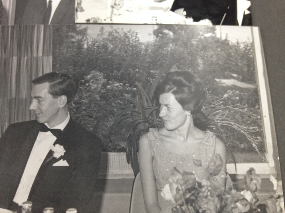 My grandparents at a wedding.