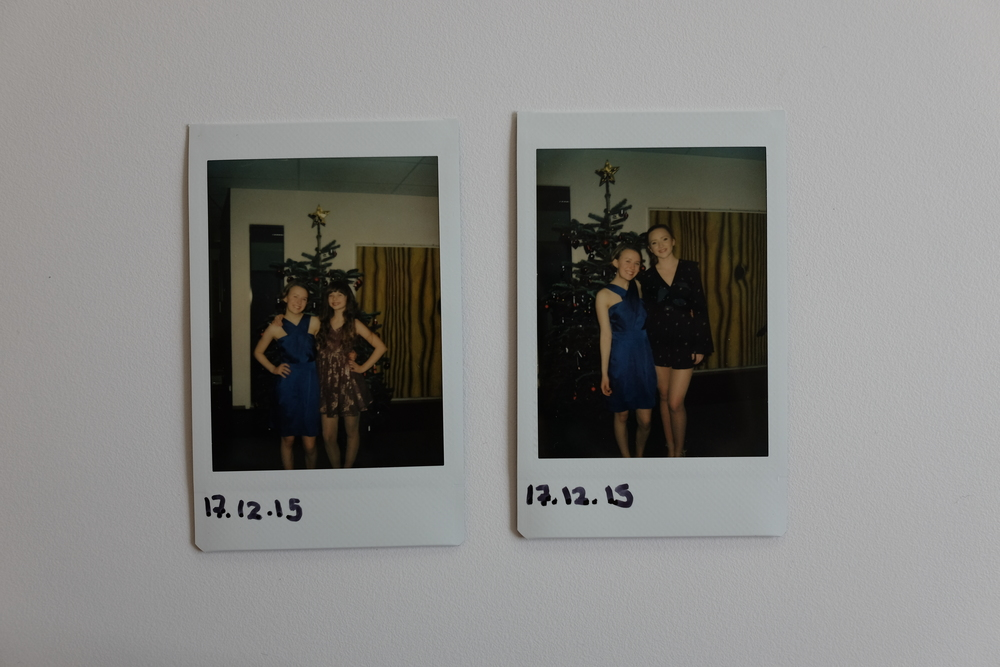 N: These two photos are from the christmas prom last year! We had such a great prom, with good friends and a ton of music!