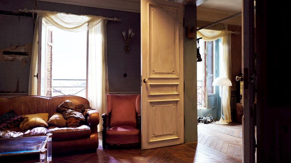 Villanelle's Parisian apartment  @bbcamerica   @killingeve