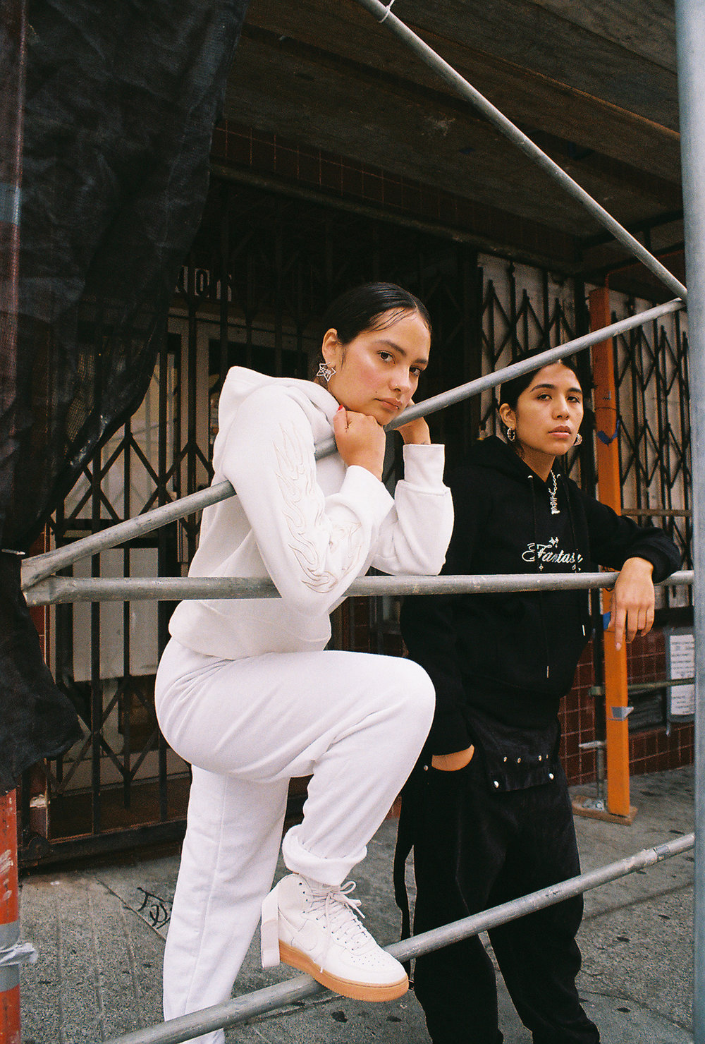 Grace and Kim wearing  Ezah Ikuy , as photographed by Thalia Gochez