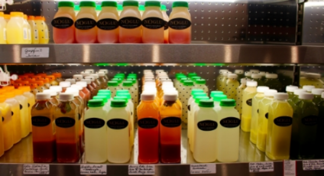 Freshly Squeezed Juices at NoGlu