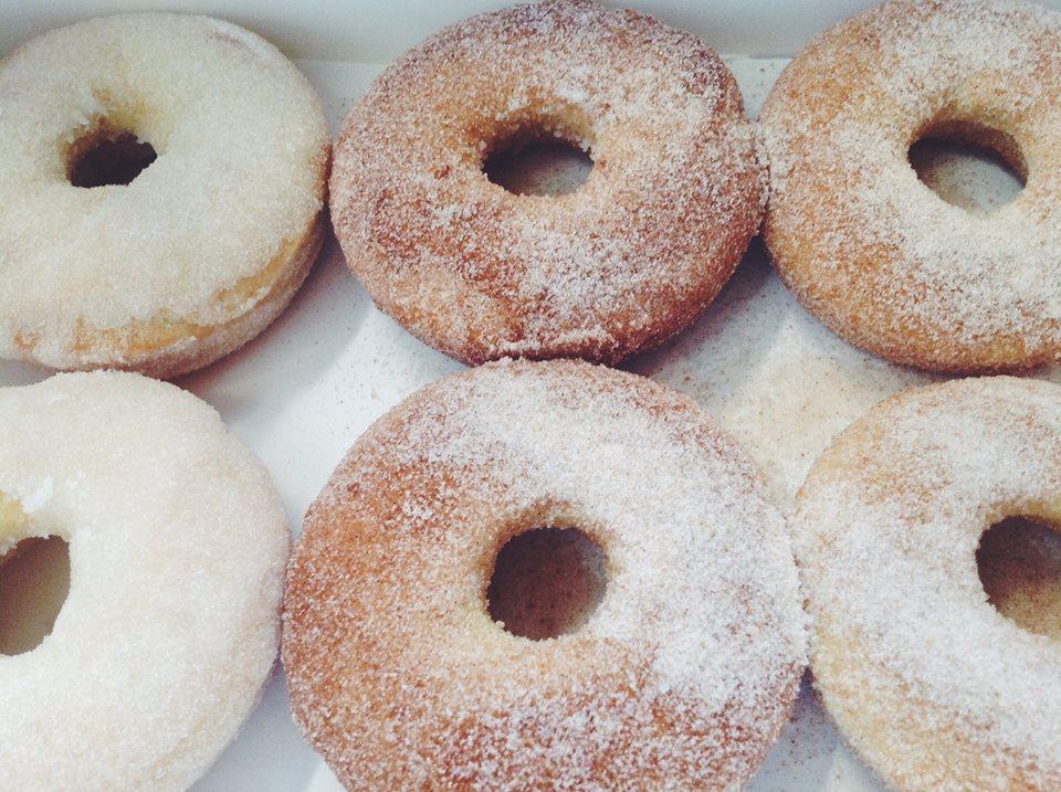 Cinnamon Sugar Gluten-Free, Vegan Doughnut