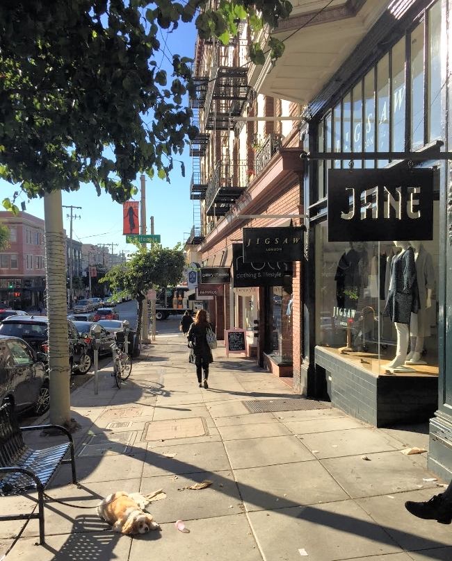 Jane on Fillmore