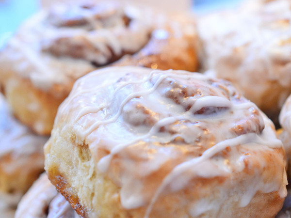 Gluten-Free, Nut-Free Cinnamon Roll from Mariposa Bakery SF