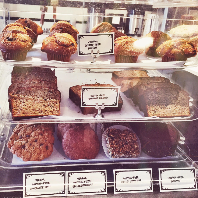 Jane on Fillmore in San Francisco vegan, gluten-free, cookies, brownies, muffins, and bread