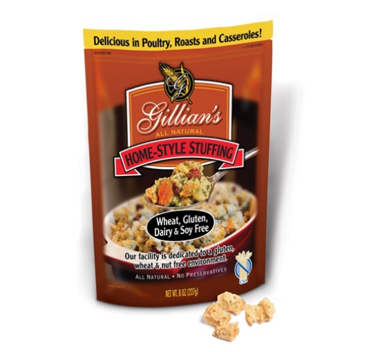 Gillian's Wheat, Gluten, Dairy, and Soy Free Stuffing