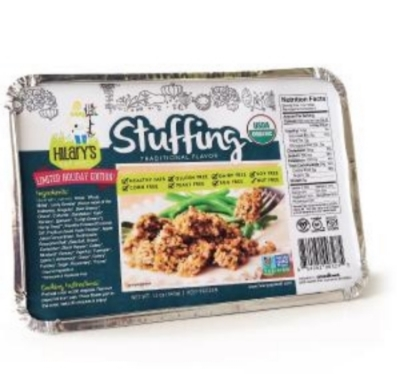 Hilary's Eat Well Gluten-Free, Nut Free, Dairy-Free Stuffing