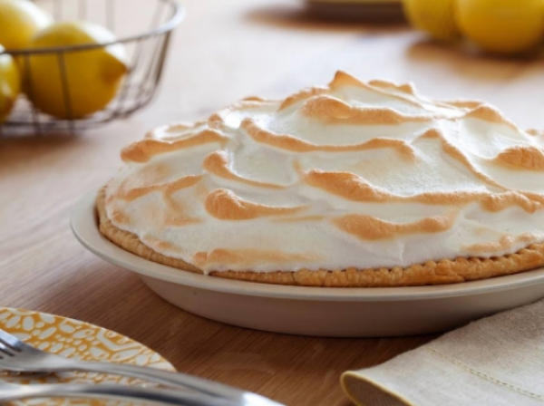 Lemon Meringue Pie, Gluten-Free and Nut-Free, Photo Credit: A&J Bakery