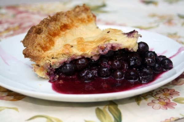 Blueberry Pie, Gluten-Free and Nut-Free, Photo Credit: A&J Bakery