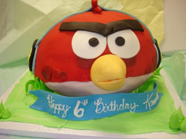 Custom Cake, Nut-Free and Gluten-Free, Photo Credit: A&J Bakery