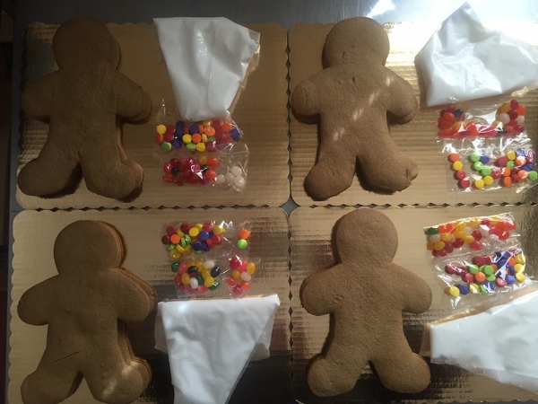 Allergen-Free Gingerbread Man Cookie Kit, Photo Credit: A&J Bakery