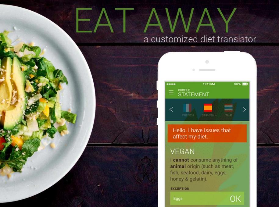 Eat AWAY ALLERGY TRANSLATOR APP