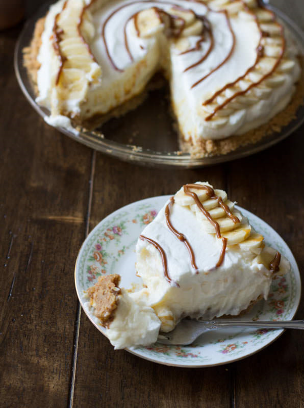 Dulce de Leche Banana Cream Pie, Photo Credit: Oh, Sweet Basil
