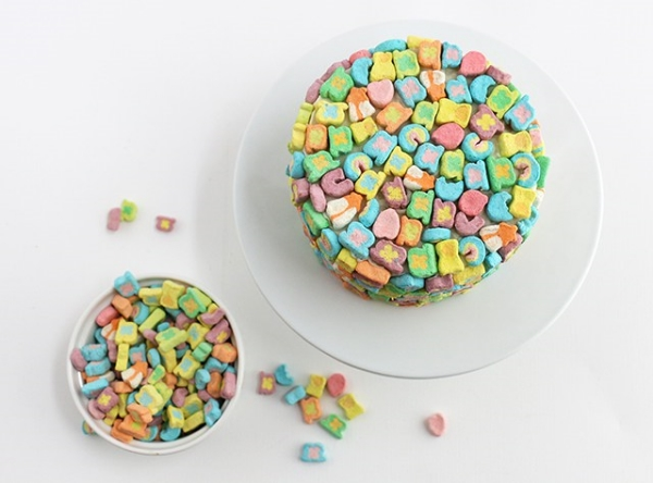 Gluten-Free Lucky Charms Cake, Photo Credit: Alana Jones-Mann